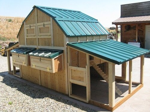 Rabbit barn plans woodworking projects plans for Duck hutch plans