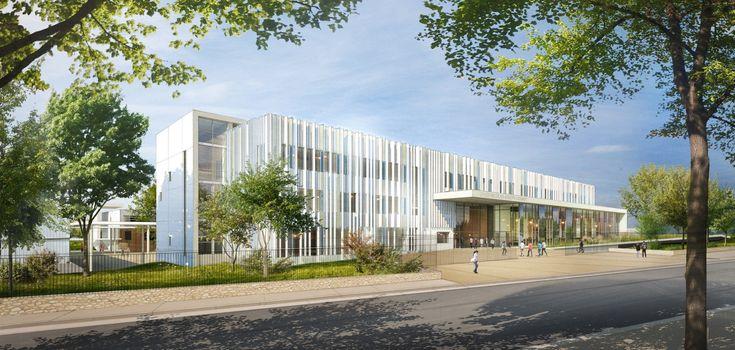 Restructuration et Extension du Lycée Nicolas-Joseph Cugnot à Neuilly sur Marne(93)