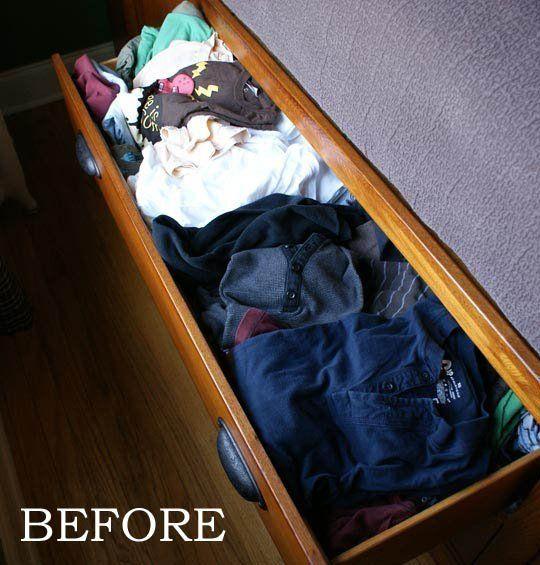 Bedroom--5 Tips for Organizing Dresser Drawers
