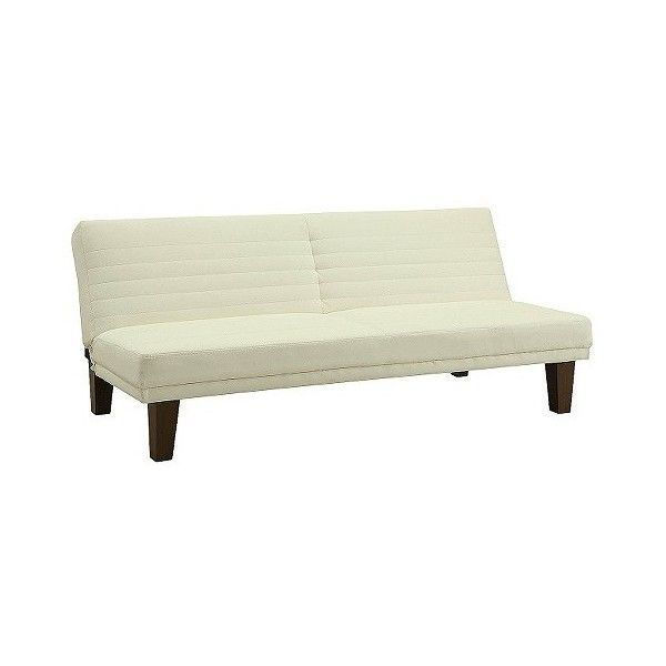 Futon Set Ameriwood Industries Dillan Faux Leather Vanilla 176 Liked