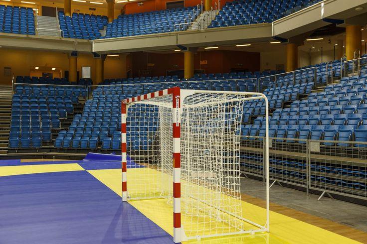 Debrecen Arena - Profesjonalne bramki do piłki ręcznej Sport Transfer. Professional Handball Goals Sport Transfer