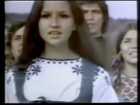 """Coca-Cola, """"I'd Like to Buy the World a Coke"""" 
