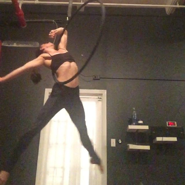 FAVORITE picture on aerial hoop I've seen in a long time!!