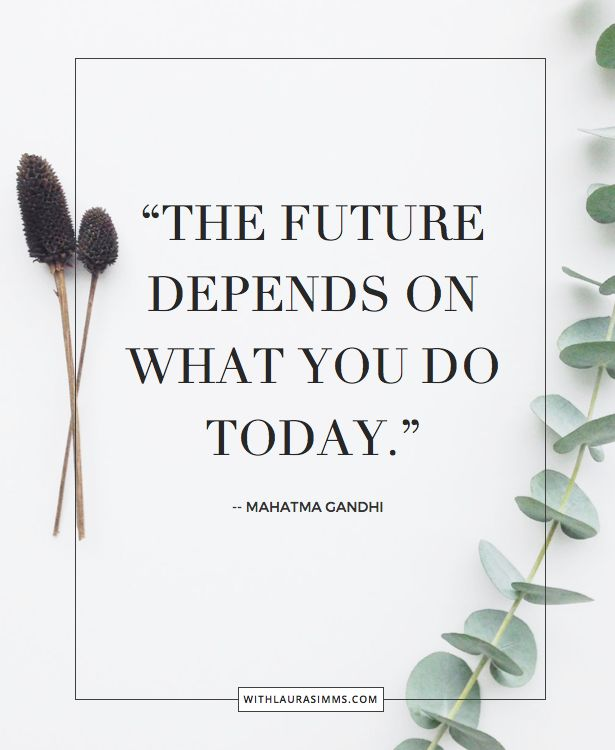 "We all need a little motivation now and then. Personal Branding is hard. But as Mahtma Gandhi would say ""the future depends of what you do today."" Here a few quotes to motivate you to taking the next step in progressing your career"
