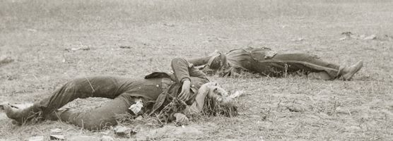 dead soldiers on the battlefieldhttp://www.nps.gov/anti/historyculture/casualties.htm