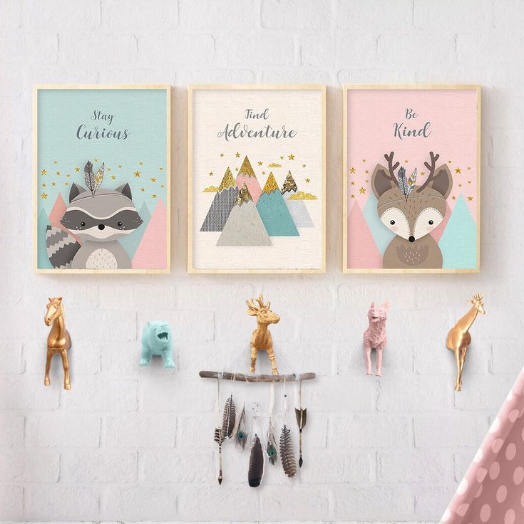 Check out this cute nursery wall decor, now you can have it all!