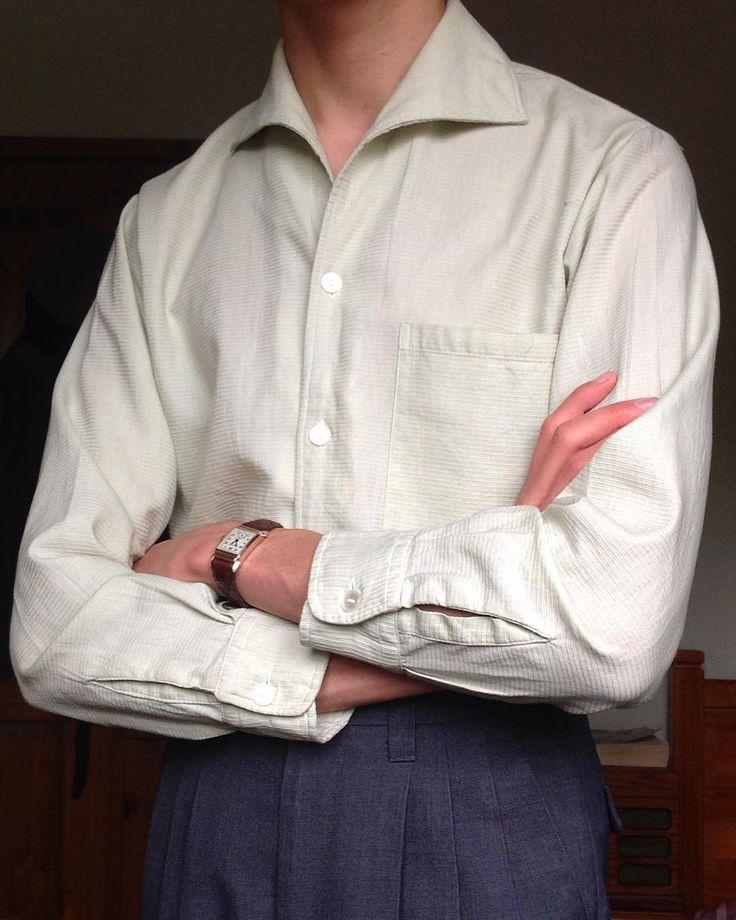 """Harry Lawton Clarke (@contemplatejazz) on Instagram: """"Deadstock 1950s casual shirt. ✔️"""""""