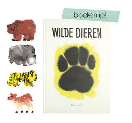 Wild animals a book by Dutch designer Rop van Mierlo #DDWmoodkids #ddw14