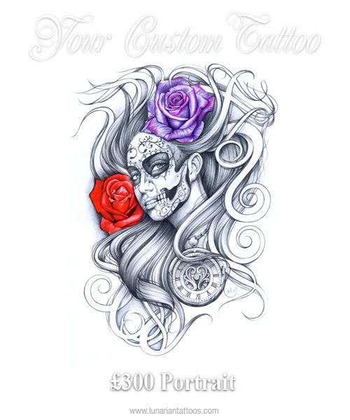 best 25 day of dead tattoo ideas on pinterest day of the dead tattoo designs day of the dead. Black Bedroom Furniture Sets. Home Design Ideas