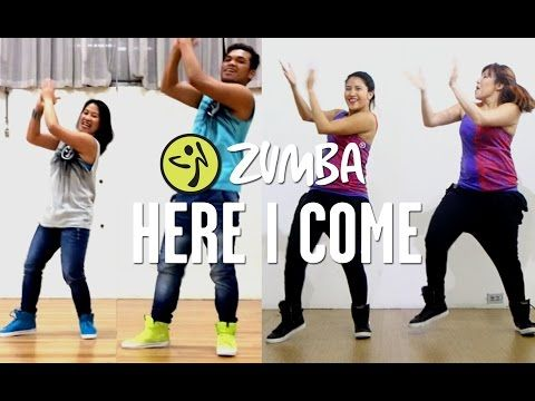 Here I Come | Zumba Fitness | Live Love Party - YouTube
