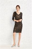 Vestido encaje tubo - Vestidos - Outlet Mujer | Amichi Shop Online