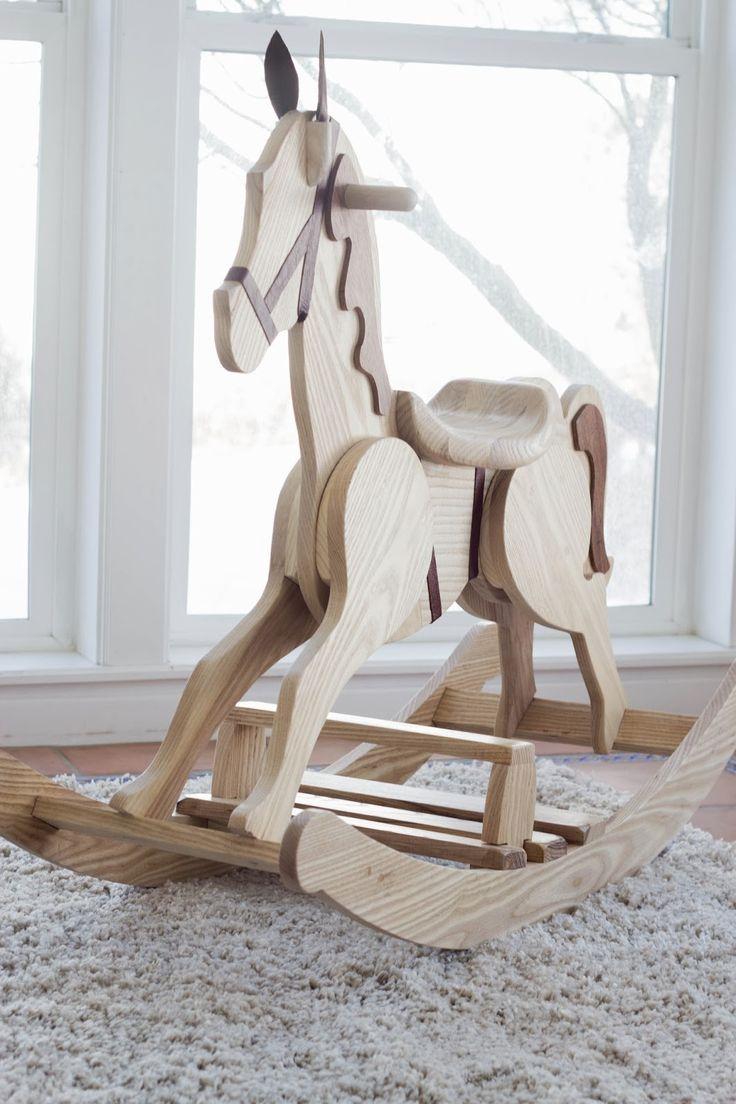 DIY Rocking Horse |do it yourself divas                                                                                                                                                                                 Más