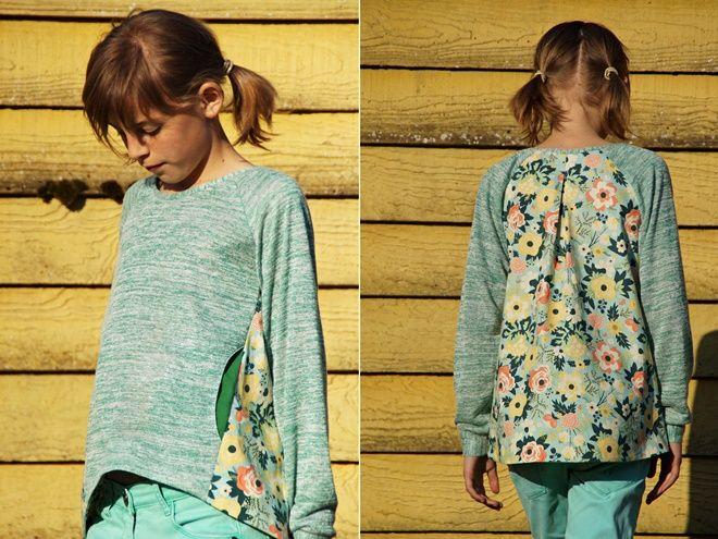 Grote liefde voor de Louisesweater van Misusu Patterns...