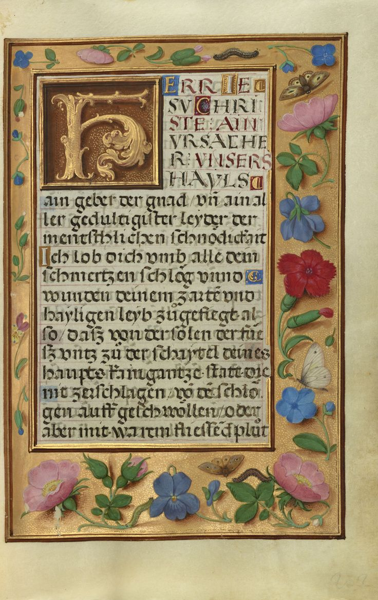 Prayer Book of Cardinal Albrecht of Brandenburg...Simon Bening