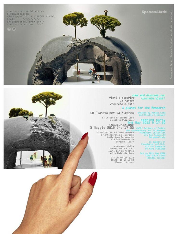 #concrete blast - planet for research / pianeta per la ricerca - bergamo, Italia - 2012 - #spectacularch check the video of the backstage https://vimeo.com/40901523