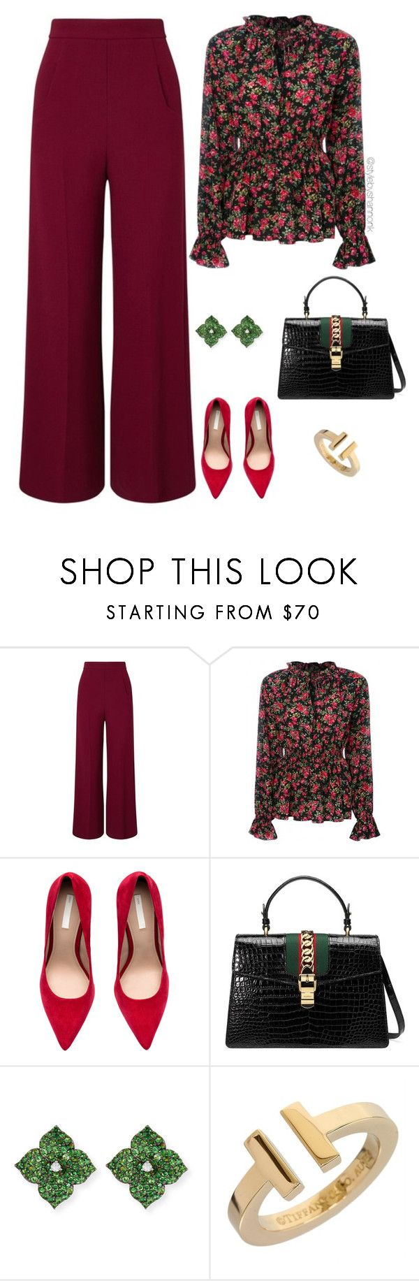 """""""Work Wear"""" by stylebyshannonk ❤ liked on Polyvore featuring Roland Mouret, Dolce&Gabbana, Gucci, Piranesi and Tiffany & Co."""