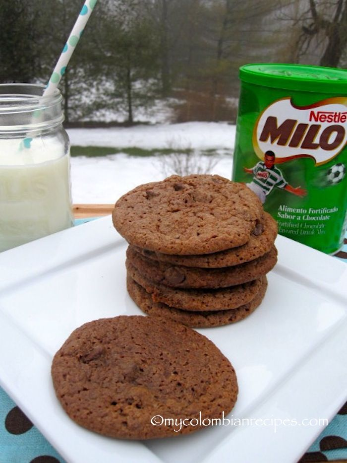 Galletas de Milo (Milo Cookies)// MILO COOOOOOOOKIES!!! O_O *drool* Heaven has opened up before my eyes. <3 <3 <3 I MUST try these!!
