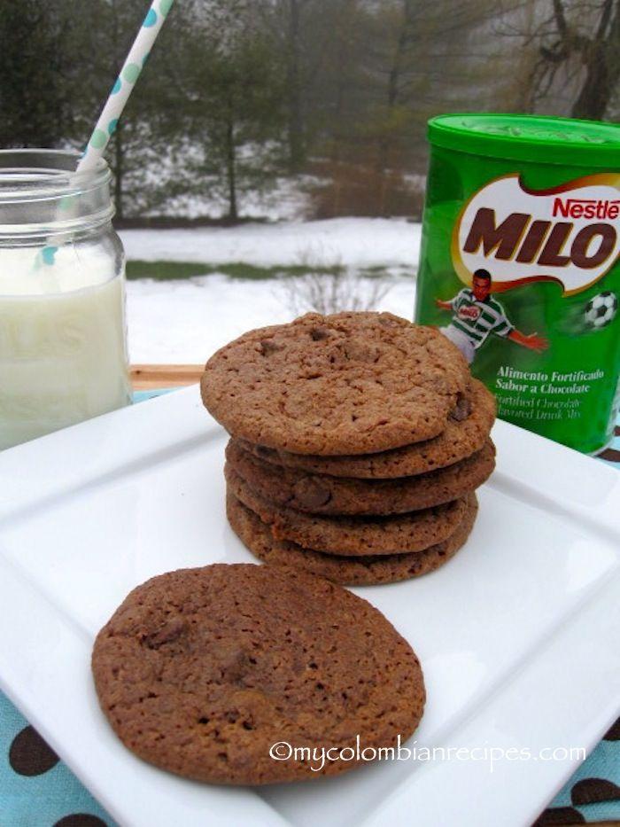 Galletas de Milo (Milo Cookies)// MILO COOOOOOOOKIES!!! O_O *drool* Heaven has opened up before my eyes. <3 <3 <3 I MUST try these!!