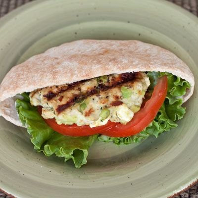 Feta Avocado Turkey Burgers