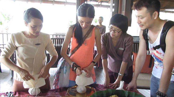 MY Amazing Thailand The Making of Compress Massage Ball