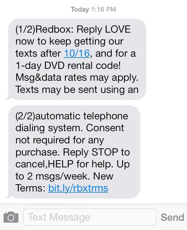 "WARNING: Text Message Marketing (SMS) Is Now ""Illegal"""