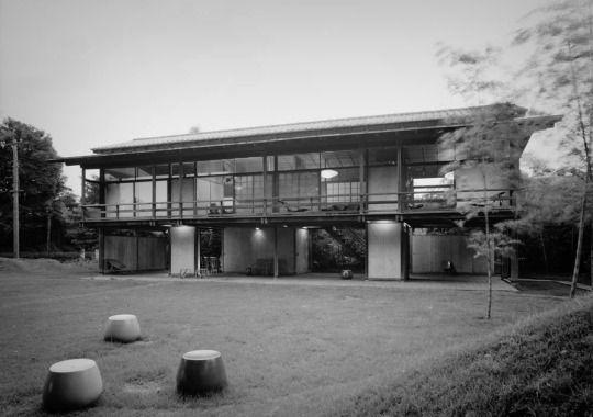 Kenzo Tange Casa propia en Tokio 1953