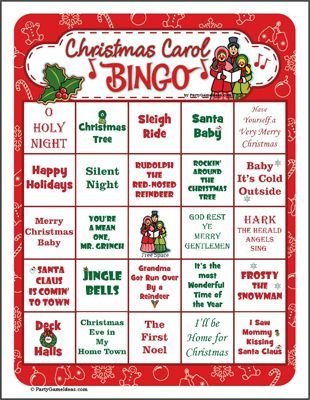 photo regarding Holiday Bingo Printable identify Printable Xmas Bingo - Festive Holiday vacation Bingo Activity