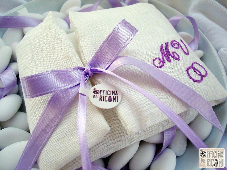 Hand made and custom confetti's bag for #wedding. Sacchetto porta Confetto per #matrimonio. Made in Italy. Model: .:: MAGGIO ::.