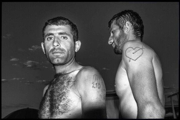 Tattoos in Azerbaijan,  captured at Shuvalan beach in Baku #streetphotography #gatefoto #blackandwhite #portrait #bnw #blackandwhitephotography #streetphoto