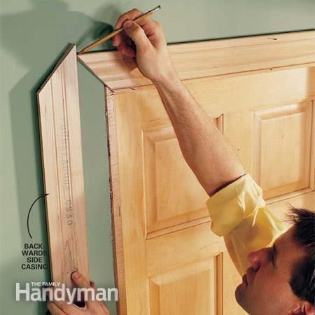 Interior Trim Work Basics - All the trim basics-start to finish-plus a clever way to get those miters tight.  We show you how to make crisp, sharp corners and tight joints when installing door trim, window trim and a three-piece baseboard. with a few basic carpentry tools and a little patience, you can trim out a room in a weekend. with a little practice you can master the two key trim techniques, mitering and coping.