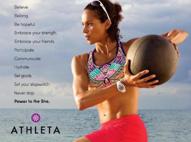Athleta -Inspiring!