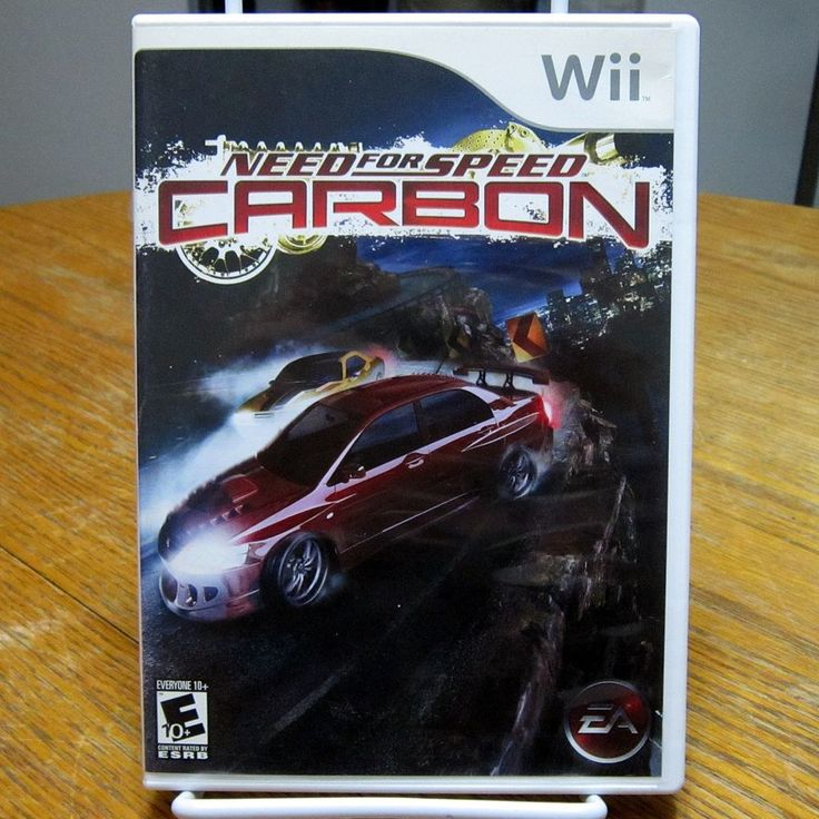 Wii Need for Speed: Carbon Nintendo Wii 2006 Complete & Tested