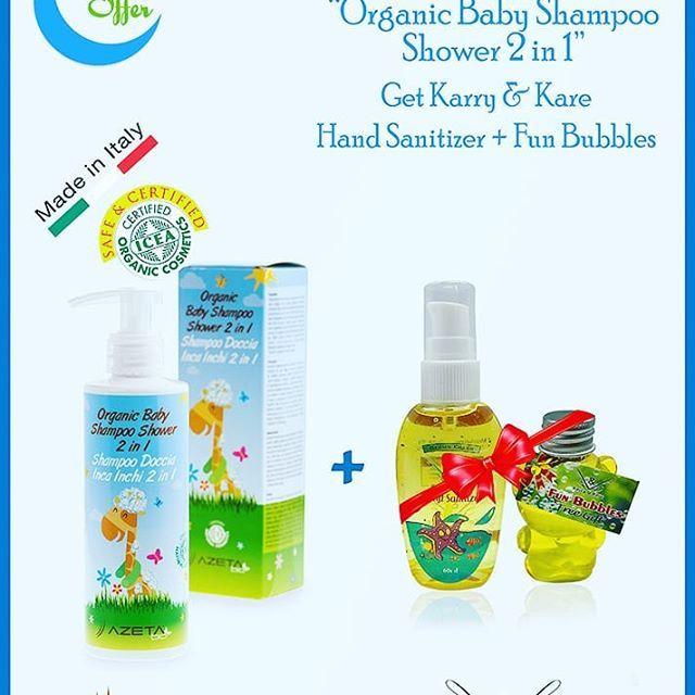 Happy And Harmless Bath With Azeta Bio Organic Shower And Shampoo