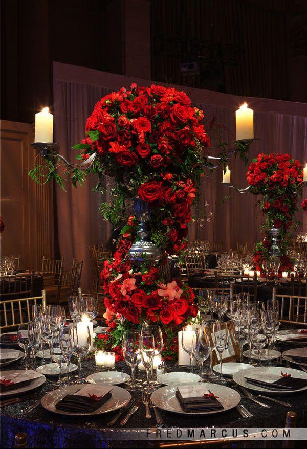 Best rose wedding centerpieces ideas on pinterest