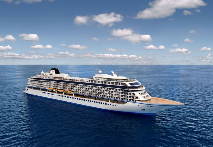 Viking Ocean Cruises took delivery of its third ocean cruise ship the Viking Sky