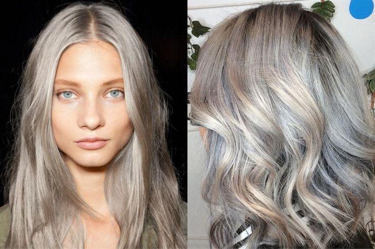 Haarfarben Trends 2020-2021 fur Lange Grau Haare - FrsRen ...