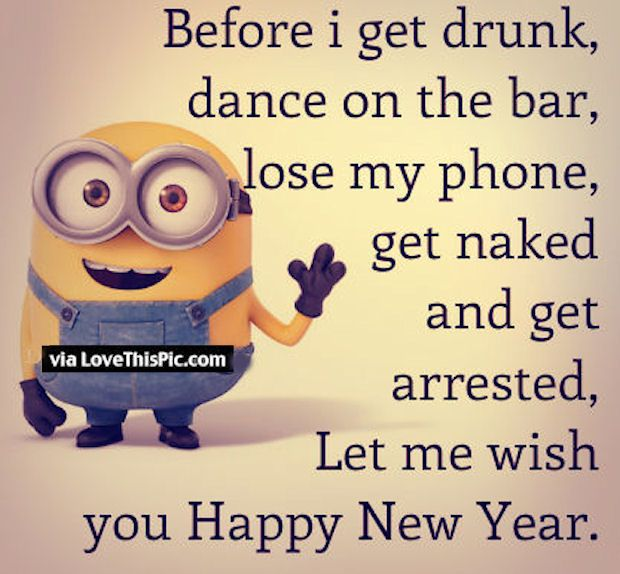 New Years Minion Quotes Pictures, Photos, Images, and Pics for ...