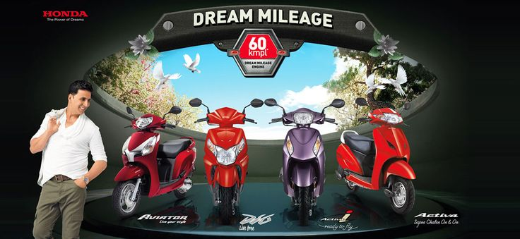 "Web Click India is honored to welcome the new bud to the growing tree of global clientele - ""Narayani Honda"". They just step into the business and we are happy to give wings to their dreams. A certified Dealer in Dhanbad have countless collection of most agile, exhilarating, and intuitive performance bikes and scooters that are the deep commitment of Honda.  Call @ +91-8298227766 or visit their official website at: http://www.narayanihonda.in/"