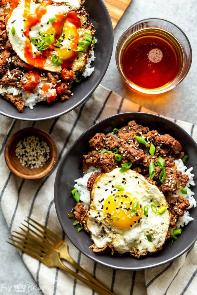 17 Really Good Recipes That Taste Even Better With An Egg On Top In 2020 Ground Beef Recipes For Dinner Ground Beef Recipes Healthy Ground Beef