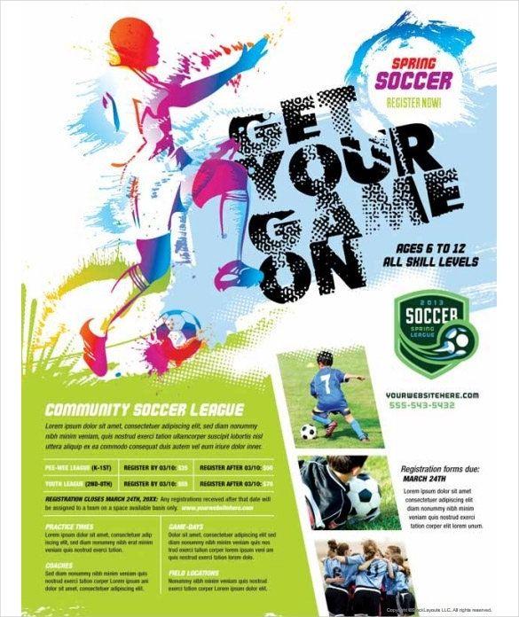 Sports Flyer Templates Free