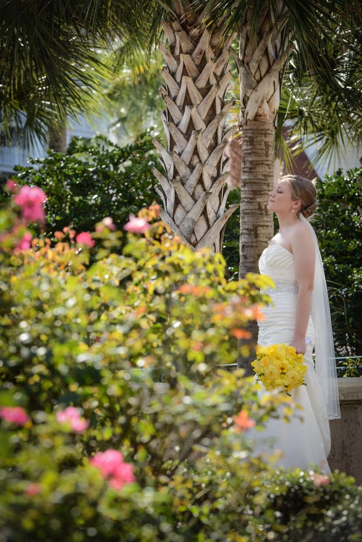 Weddings at disney parks and resorts - Walt Disney World Bride Enjoying A Quiet Moment Alone At Disney S Grand Floridian Resort Spa