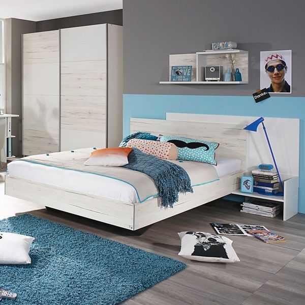 Fabulous Details zu Jugendbett cm wei Bett Jugendzimmer Kinderzimmer Einzelbett Schlafzimmer