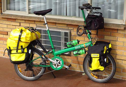 bike friday touring. What to look for when buying a folding bike for touring.