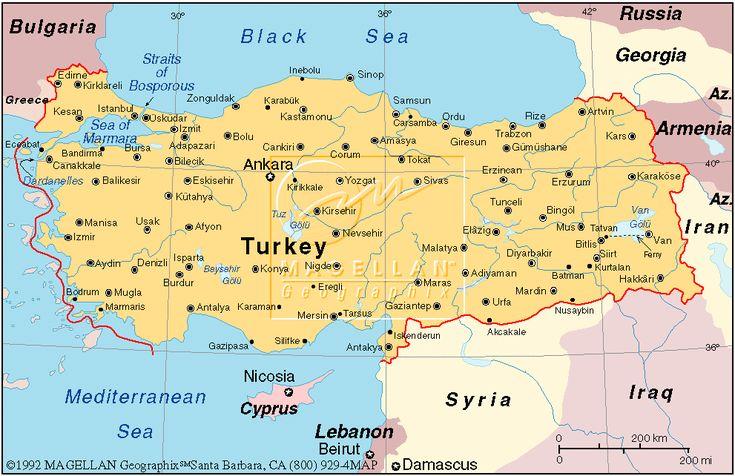 República de Turquía Capital Ankara 72.561.312 habitantes (2009) Idioma Turco Moneda Lira Turca (TRY)