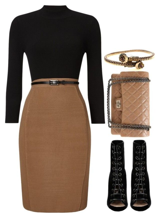"""Preadored 4.18"" by emilypondng ❤ liked on Polyvore featuring Phase Eight, Barbara Bui, Chanel and PreAdored"