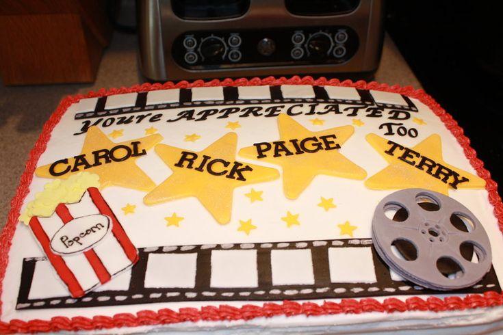 Movie themed cake.