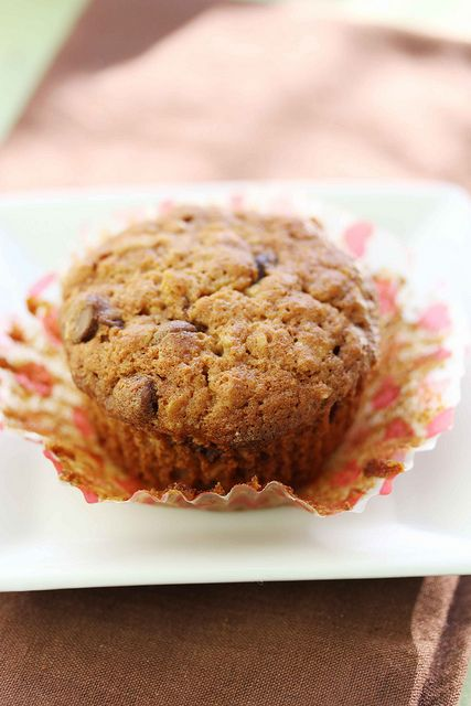 oatmeal choc chip muffin. Great base recipe, added maple, and some ...