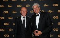 Bertrand Delanoë (homme politique de l'année 2013) et Maurice Levy (businessman de l'année 2013) GQ célèbre ses Hommes de l'année 2013