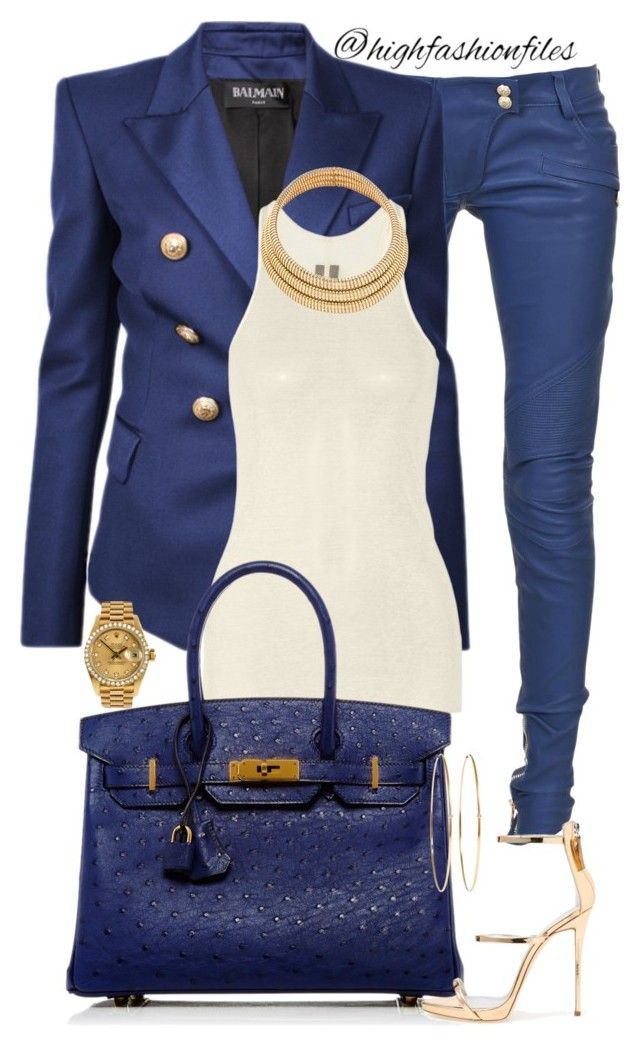 The enforcer by highfashionfiles on Polyvore featuring polyvore, fashion, style…