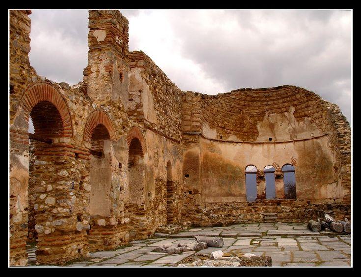 Basilica of Saint Achilles - Prespes  Agios Achillios, Florina
